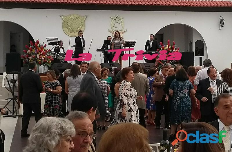 Orquesta grupo musical bailable orquesta para matrimonios la trivia orquesta lima peru