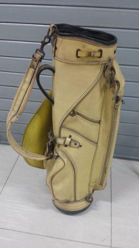 Antiguo Bolso Para Los Palos De Golf -tienda Propia