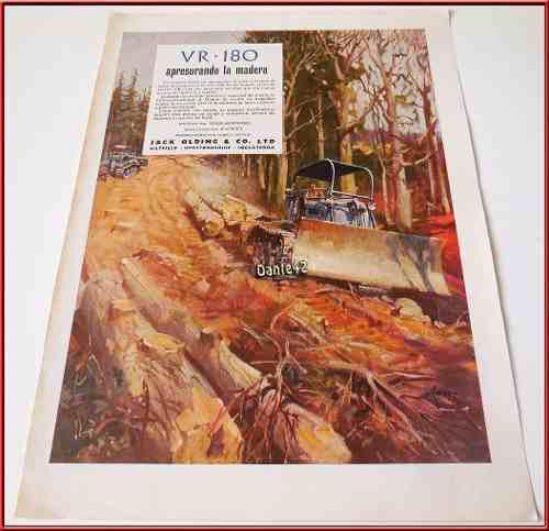 Dante42 Publicidad Antigua Retro Tractor 1953