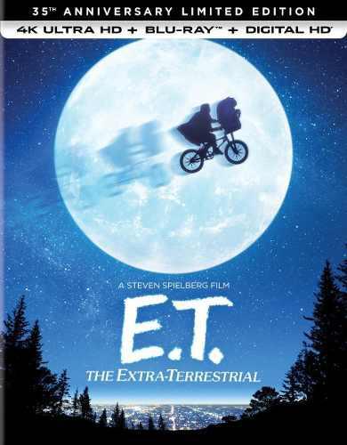 E.t. el extraterrestre - 4k - edición de 35 aniversario