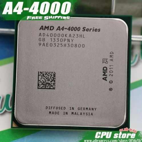 Procesador Amd A4-3300. Socket Fm2.