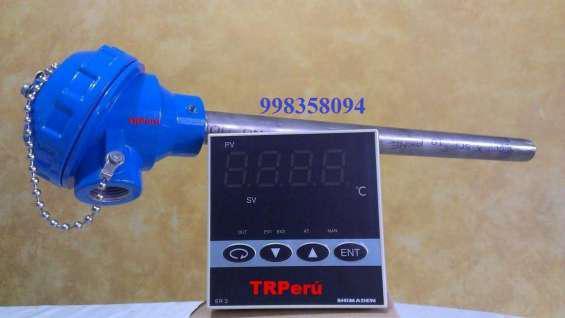 Sensores de temperatura pt100-rtd, de uso industrial en Lima
