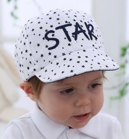 Boina niño estrellas gorra 12 a 36 meses