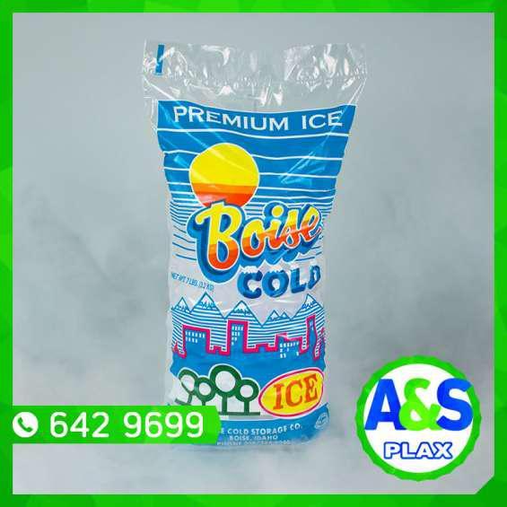 Bolsas para hielo