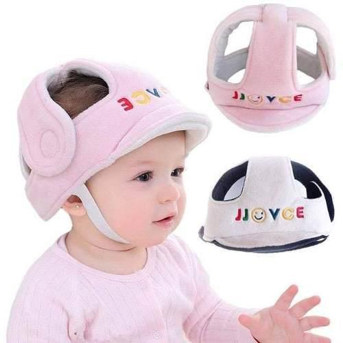 JJovce Sombrero de Protecci/ón Infantil Casco de Seguridad para Beb/és Protector de Cabeza Transpirable Ajustable para Ni/ños Peque/ños Aprenden a Caminar