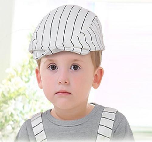 Gorra boina bebe niño blanco gorro 6 a 18 meses 3d6e812cd9f
