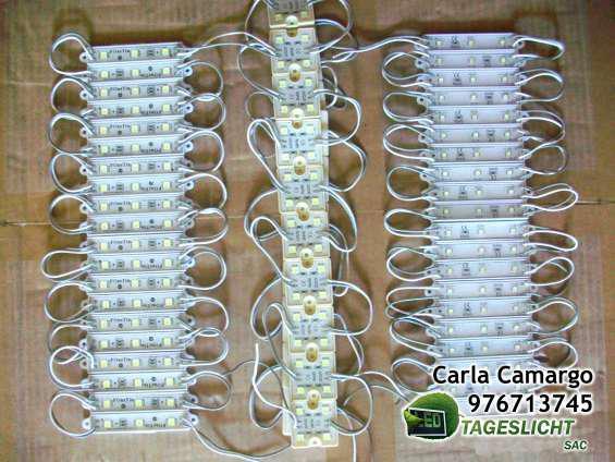 Módulo led 5050 ultrabrillante para cajas luminosas
