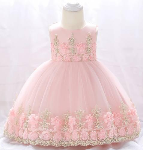 b09d6721d7d Vestido fiesta bebe niñas tallas 1 años y 2 años en Lima 【 REBAJAS ...
