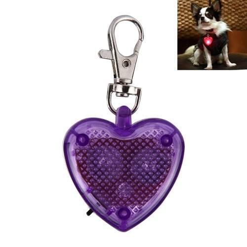 Collar forma corazon moda para mascota seguridad gato perro