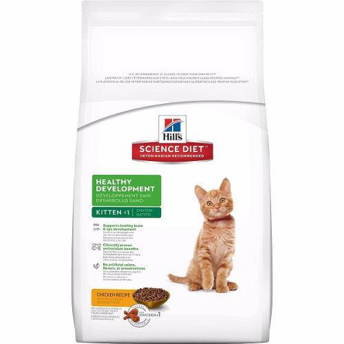 Hills feline kitten 7kg alimento gatito - no es arena gato