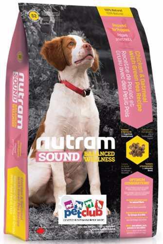 Nuevo nutram s2 puppy cachorro raza pequeña mediana 13.6 kg