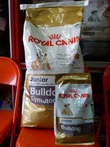 Oferta royal canin bulldog junior 12 kg + 1 kg gratis