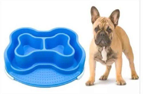 Plato comida perro gato mascota basa bones anti hormigas m