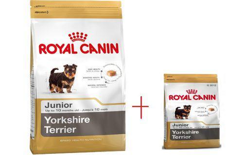 Royal canin yorkshire junior 7.5 kg + bolsa de 1.5 kg gratis