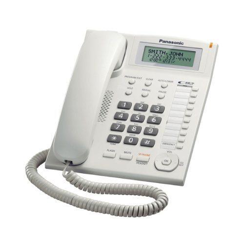 Telefóno panasonic kx-ts880lxw nuevo en caja