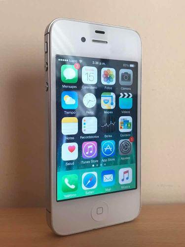 Apple iphone 4s 32gb libre de icloud