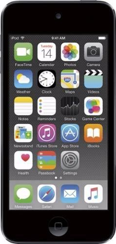 Apple ipod touch 6th gen 64gb color space gray c/nuevo