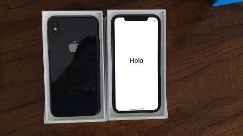 Iphone x 64 gb usado como nuevo liberado garantia