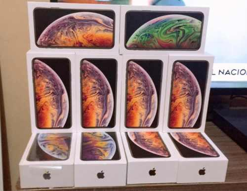 Iphone xs max 64gb 4g lte sellado garantía 12 meses stock