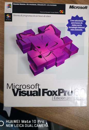Microsoft visual foxpro 6.0 profesional - original