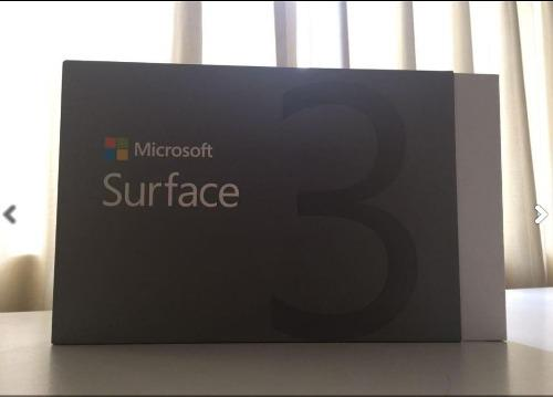 Tablet microsoft surface 3 64gb / 2gb ram