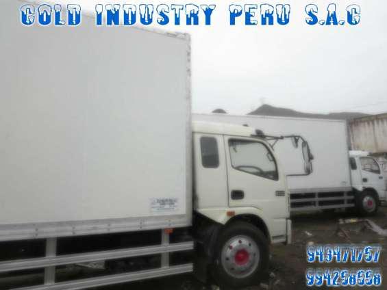 Venta de furgones refrigerados y equipos de refrigeracion en