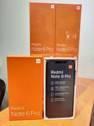 Xiaomi redmi note 6 pro global version 4gb 64gb en stock