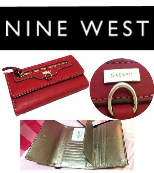 código promocional 61bb9 047b0 Billeteras Nine West Originales