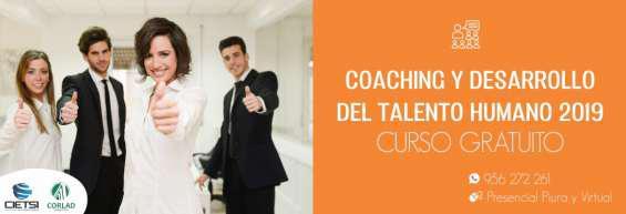 Curso especializado coaching y desarrollo del talento humano