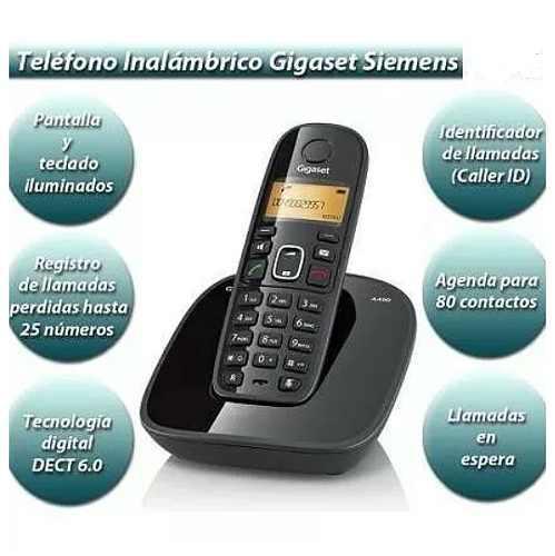 Telefono inalámbrico x mayor y menor