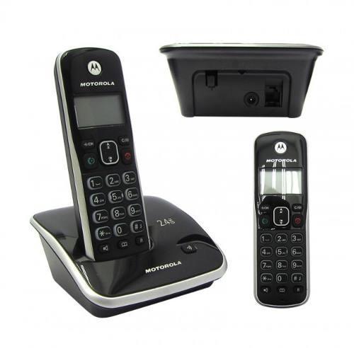 Teléfono digital inalámbrico motorola auri3520a 2.4 gh