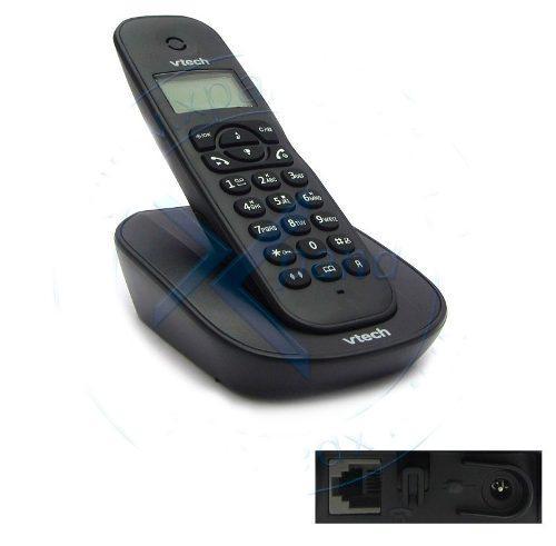 Teléfono digital inalámbrico vtech vt220blk 2.4 ghz