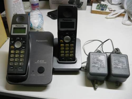 Teléfono inalámbrico digital de 2.4 ghz. panasonic