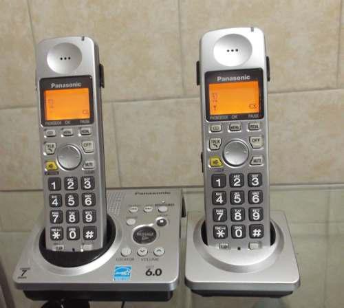 Teléfono inalámbrico panasonic kx-tg1031s y anexo