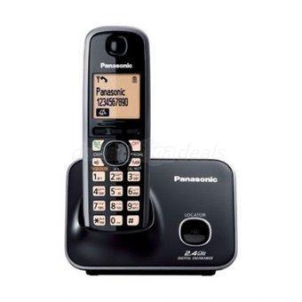 Teléfono inalámbrico panasonic kx-tg3711lb - negro