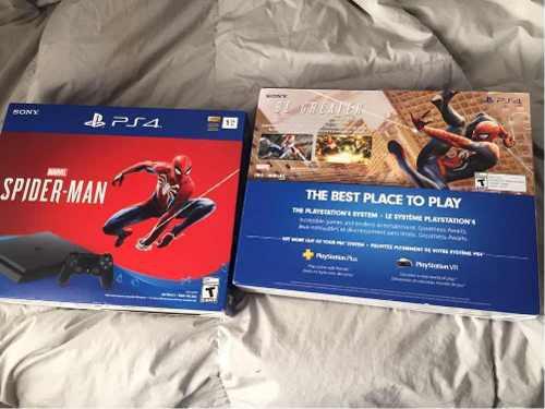Vendo ps4 edicion spiderman y iphone 7plus 32b!!!