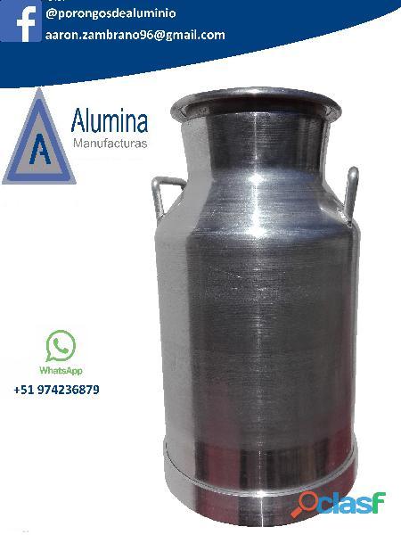Porongos de aluminio para leche alumina en arequipa