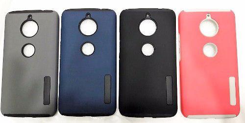 half off 816d8 6c9d1 Case Protector Tipo Incipio Sin Logo Para Moto E4 Plus