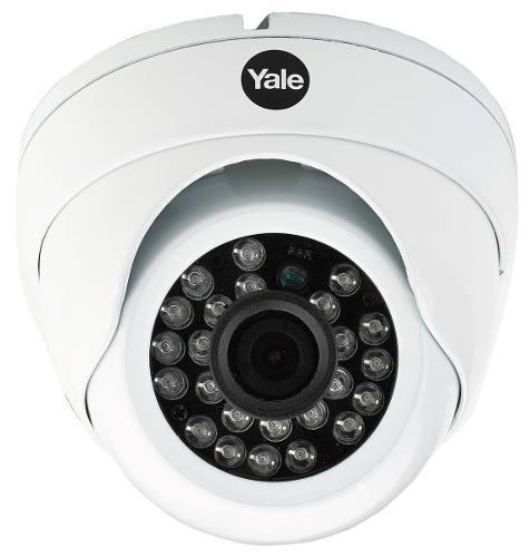 Cámara de seguridad hd para cctv, yale, tipo domo