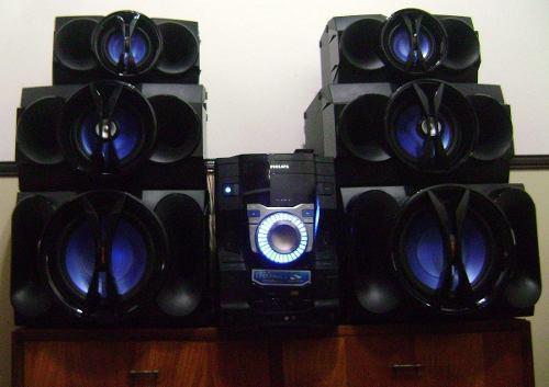 Equipo de sonido philips fwt9200/55