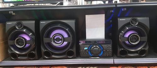 Equipo sony luces mhc-m80d nuevo sellado