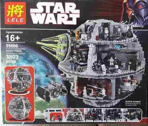 STAR WARS ESTRELLA DE LA MUERTE LELE 3,803 PIEZAS TIPO LEGO segunda mano  Lima (Lima)