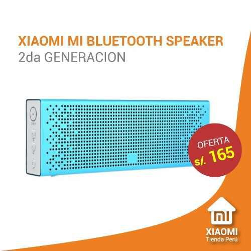 Xiaomi parlante bluetooth version 2