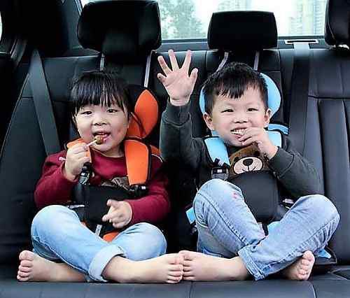 Asiento auto p/ bebe seguridad portátil practico 1 - 5