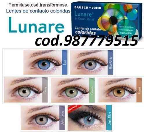 31dcc1b346 Lentes de contacto de color lunare de bausch & lomb