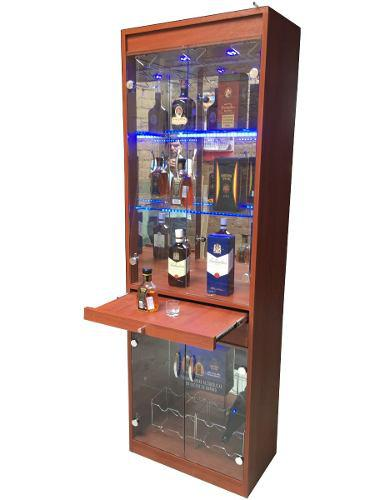 Mueble bar, vitrina, licorera. bar luces led. oferta!!!!