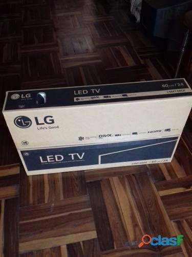Vendo tv monitor lg 24pulg. negro completamente nuevo en caja.