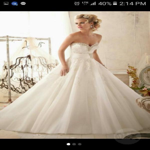 5830c5811 Vestido novias   REBAJAS Mayo