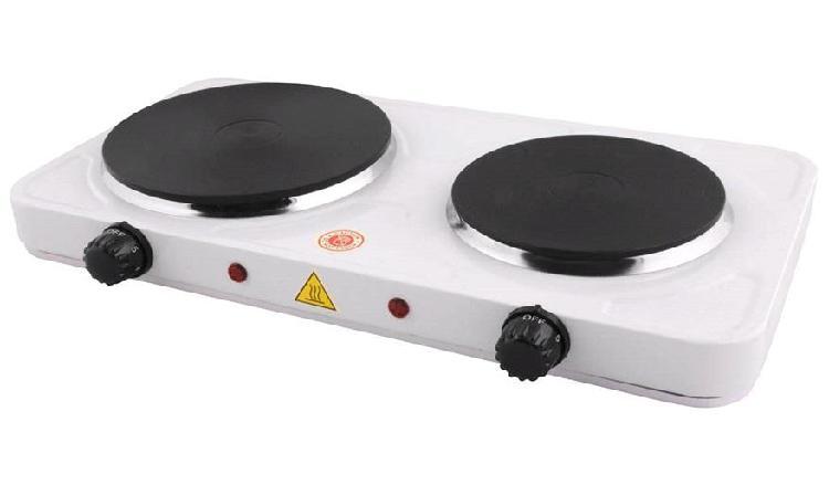 Cocina electrica de plancha de 2 hornilla oferta delivery al