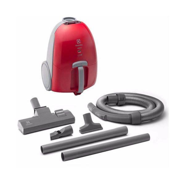 Aspiradora electrolux 1000w succión nan11 – rojo